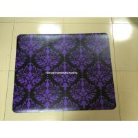 Wholesale Recycled Purple Chair Floor Mats Home / Office , Non Studded Chair Mat from china suppliers