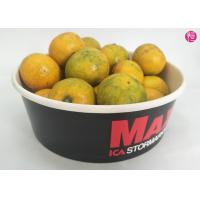 Wholesale 100 CTNs 38oz Paper Paper Salad Bowls with Clear Lid Custom Printed Design from china suppliers