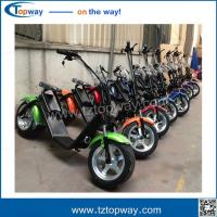 Wholesale City Coco Electric Mobility Scooter Fat Tire Electric Motorcycle with front shock from china suppliers