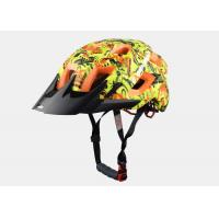 Wholesale New Graffiti Graphics MTB Enduro Bike Helmet with Colored EPS , Customized Graphics from china suppliers
