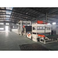 Asphalt Carpet Tile Production Line , CNC Cutting Machine Frequency Control