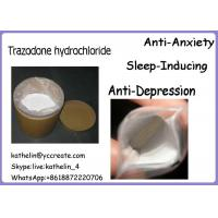 Wholesale Antidepressant Powder Trazodone hydrochloride Anti Anxiety And Sleep Inducing 25332-39-2 from china suppliers