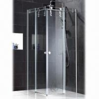 Wholesale Simple Frameless Glass Shower Room, Made of SS304 Stainless Steel, Hardware with Polished from china suppliers