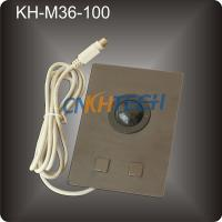 Buy cheap Metal marine console trackball from wholesalers