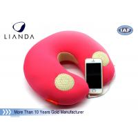 Wholesale Natural Music Sound Vibrating Massage Neck pillow with speaker , Memory Foam materials from china suppliers