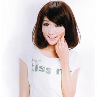 Wholesale Black and Brown Curly Short Asian Hair Wigs for Girls from china suppliers