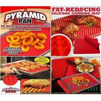 PYRAMID PAN Non Stick Silicone Baking Oven liner Tray sheet