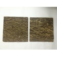 Wholesale Tree Bark Cork Wall Tile with cork backer