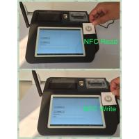 Wholesale Swipe Card Wireless POS Terminal , 7inch Color TFT LCD Touch Screen POS System from china suppliers