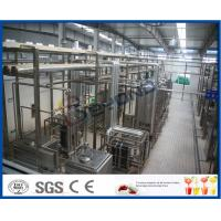 Wholesale 5000LPH UHT Milk Processing Equipments , Aspetic Bottle Packing Milk Production Line from china suppliers