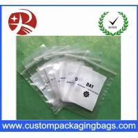 Wholesale Recyclable Coloured Printed Ldpe Plastic Bag Packaging Double Ziplock from china suppliers