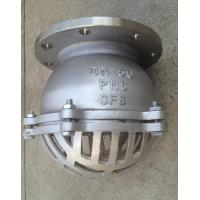 Stainless steel pn water flanged foot valve with
