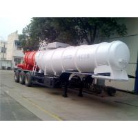 Wholesale 3 Axle V Shape Heavy Duty Semi Trailers  19M3 20M3 21M3 For Sulfuric Acid from china suppliers