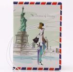 Retro Envelope Travel Passport Holder