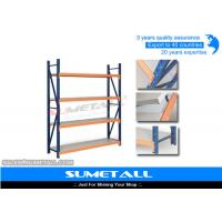 Wholesale Durable Light Duty Metal Industrial Shelving , Metal Storage Racks For Household Storage from china suppliers