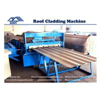 Wholesale G550MPA PPGI Roof Panel Roll Forming Machine With Universal Joint 0-30m/min from china suppliers