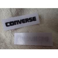 Wholesale Converse 3D Silicone Logo Patches Black Soft For Clothing Neck Label from china suppliers