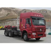 Wholesale HOWO 6*4-420HP-1 BEDS-Tractor truck,Semi-trailer Towing Truck-LNG Engine from china suppliers