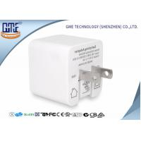 Wholesale White Single Port Foldable US PIN 5V 2.4A  USB Charger of High Efficiency from china suppliers