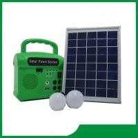 Wholesale 10w solar lighting kits with 2 led lamps, phone charger, FM radio, solar home lighting kits 10w cheap sale from china suppliers