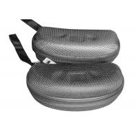 Wholesale EVA Plate Mens Sunglasses Case / Hard Cool Glasses Case With Grid Nylon Surface from china suppliers