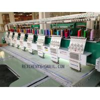 Wholesale New Eight Head Flat Embroidery Machine/Multi-Head Computerized Flat Embroidery Machine from china suppliers
