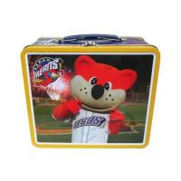 Wholesale Children Kinds Love Metal Tin Lunch Box With Handle / Lock On Top from china suppliers