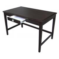 Wholesale Birch Wood Hotel Writing Desk For Hotel Bedroom , PU Stain Finish from china suppliers