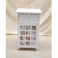Buy cheap White Drawers Wooden Box Handmade Storage Cabinet from wholesalers