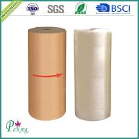 Quality Customize 1280mm Brown Color BOPP Packing Tape Jumbo Roll for sale