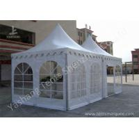 Wholesale Hard Aluminum Framed Wind Resistance High Peak Tents Soft Pvc Fabric Cover from china suppliers