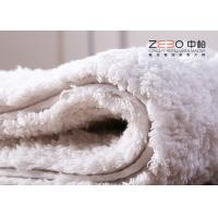 Buy cheap White Color Hotel Floor Towels 100% Cotton Non Skid With Embossed Logo from wholesalers