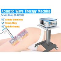 Wholesale High Precision Acoustic Wave Therapy Shockwave Therapy Equipment For Cellulite / Fat Reduction from china suppliers