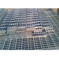 Quality Self Color Mild Steel Grating , Fire Brigade Driveways Galvanised Grid Flooring for sale