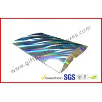 Wholesale Laser Silver Card board Packaging A4 B5 Document Card Board Packaging from china suppliers