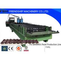 Wholesale Automatic Continuous PU Sandwich Panel Machinery With Non-stop Cutting Device from china suppliers