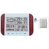 Wholesale Wireless Weather Station With Forecast Temperature Humidity  Alarm and Snooze Thermometer Hygrometer Clock MS6145 from china suppliers