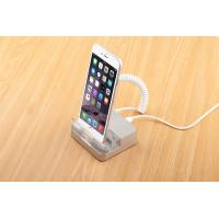 Wholesale COMER acrylic display mobile phone security stand with alarm and charging cable from china suppliers