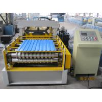 Wholesale 914mm Width Pre Painted Steel Coil Cold Roll Forming Machine / Roll Forming Line from china suppliers