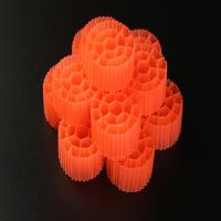 Wholesale Virgin HDPE Material Plastic Filter Media With 19 Holes And White Color For RAS from china suppliers