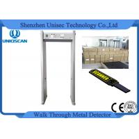 Wholesale CE/ISO certificated Single zone metal detector security walk through safety gate from china suppliers
