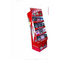 Wholesale A3 + 150g + 300CCNB Cardboard Red POP Display For Radio , Point Of Purchase Display Racks from china suppliers