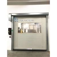 Wholesale Galvanized Steel High Speed Roll Up Door Energy Saving Elegant Appearance from china suppliers