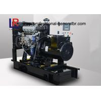 Wholesale 230 / 400V 22KW / 27.5KVA Portable Diesel Generator Set with Electric Speed Regulator from china suppliers