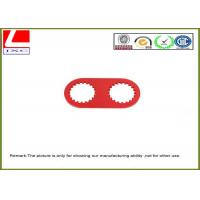 Buy cheap high precision machining parts made of aluminum with red anodization. from wholesalers