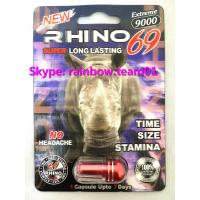 Quality Rhino 69 3D  Cards 9000 Extreme Male Sexual Performance Enhancer sex pill capsule bullet for sale