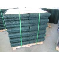 Wholesale 6005 Vinyl Coated Green Wire Netting / 25mm Galvanized Poultry Netting from china suppliers