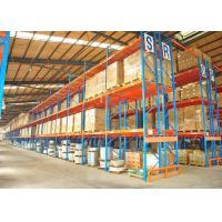 Wholesale 1,500kg/Pallet Industrial Steel Storage Racks , Heavy Duty Warehouse Pallet Shelving Unit from china suppliers