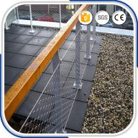 Buy cheap Outdoor fashional 2.0 mm X-tend stainless steel decorative rope mesh fence from wholesalers