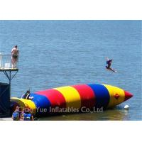 Buy cheap Colorful 0.6mm PVC Tarpaulin Inflatable Water Activities Blob Water Sports For Jumping from wholesalers